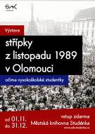 STŘÍPKY Z LISTOPADU 1989 V OLOMOUCI 1